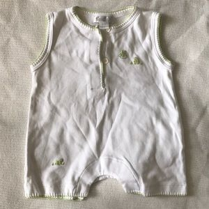 Kissy Kissy frog play suit
